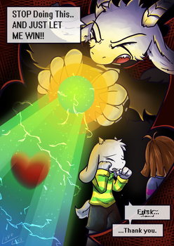 [Reward] Never Wish To Defeat You(Undertale spoil] by vavacung