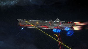 Endless Space 2 - United Empire Dreadnought by Vollhov