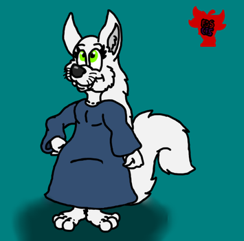 Shannon the Arctic fox by Coolfruits