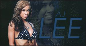 AJ Lee Signature by ViceEmerald