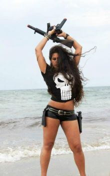 The Punisher - Welcome to your Black Wonderland. by PrincessMiele