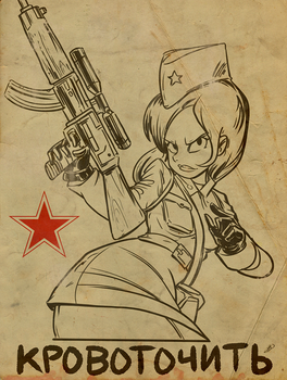 Soviet Girl - Coagulation by ActionMissiles