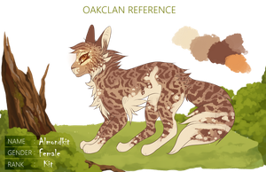 [OAKCLAN] Almondkit by koiffee