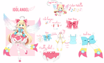 Custom Adoptable: Idol Angel by Ayuki-Shura-Nyan
