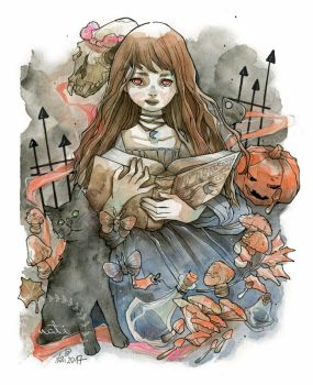 October Witch by nati