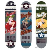 Bomber Girls Skateboards by Nemons