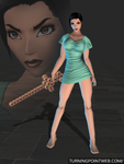 Fear Effect Inferno - Hana Tsu Vachel Gown for XPS by LitoPerezito