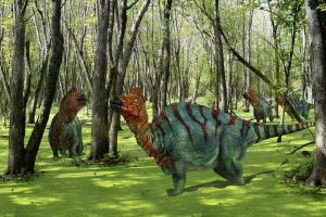 corythosaurs by ministerart