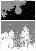 Screentones Starry Sky 3 by bakenekogirl