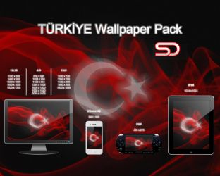 TURKIYE Wallpaper Pack by shady06