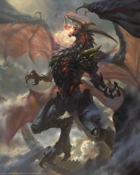 Neo-Bahamut by BillCreative
