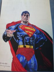 is it bird a plane nooo it's Superman by donvibes