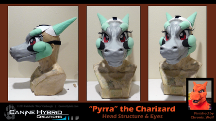 Pyrra the Charizard by CanineHybrid