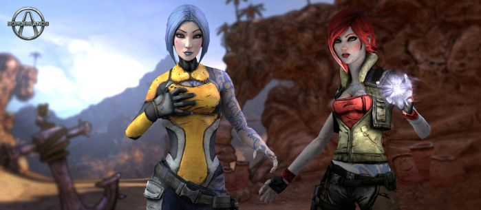 Borderlands Maya And Lilith by kskripann23