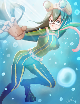 Tsuyu Asui by Dejaguar
