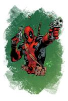 Deadpool - colors by ZethKeeper
