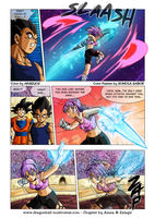Dragon Ball Multiverse: 1219 Color by Argelios