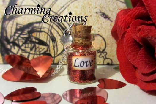 Love Necklace by literary-magic