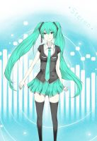 Hatsune Miku - Stereo by D-Daisy