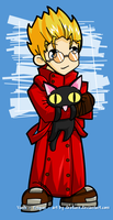 Vash all cuted up by desfunk