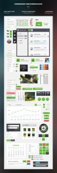 Impressionist UI User Interface Pack by the-webdesign
