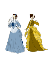Victorian Dresses by alden-r