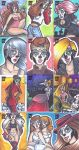 Babes of the Dead Sketchcards (5FINITY) (Set 1) by keelhaulkate