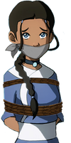 Katara Tied Up and Gagged by songokussjsannin8000