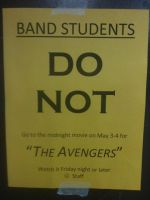 No midnight premier for 'The Avengers' by Noire-Astral