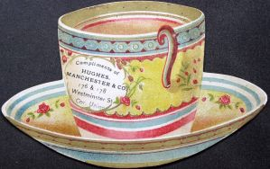 Victorian Advertising - Crockery by Yesterdays-Paper