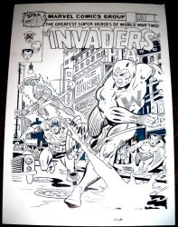 Invaders 35 Cover Recreation by redskindavyd