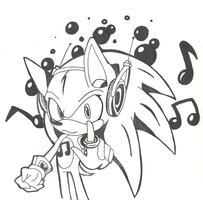 Sonic DJ by rouge2t7