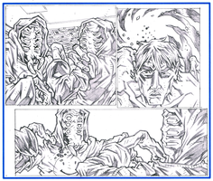 NAKED MAN AT THE END OF TIME - Page 24 Pencils by KurtBelcher1