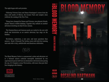 Book 2 Cover - Blood Memory: Beneath the Surface by Rozbeans