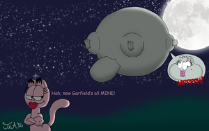 Rarely Inflated: Penople The Cat by ToferTheAkita