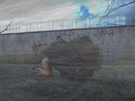 Struggling Woman #7 (end) by wgsoup