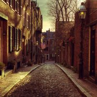 Boston: Beacon Hill. by inbrainstorm