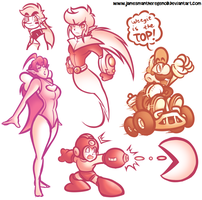 Pretty SAI Doodles by JamesmanTheRegenold