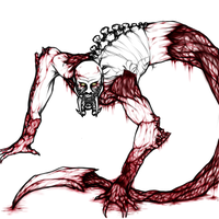 Bloody mess! :U :WIP: by Kyaatto