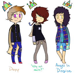 Prince Adoptables Batch 10 CLOSED by Literalilli