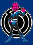 sinestro blue by AlanSchell