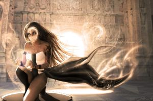 Eternal Flame. by hybridgothica