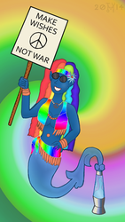 Request: Pazzilah, the hippie genie by hippo2