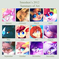 Summary of 2012! by Smushey