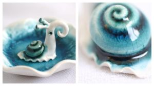 Turquoise Snail by vavaleff