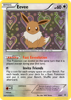 Eevee Fake Card (BW/XY) by icycatelf