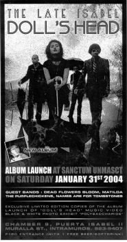 The Late Isabel Album Launch by eldritch00