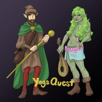 YogsQuest by Melleh17