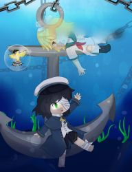 The Ghost and the Sunken Sailor by deltari2