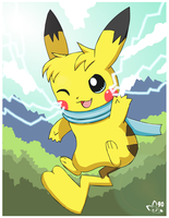 Electrifyingly Cute by pichu90